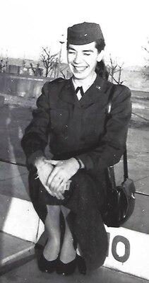 Lt. Eleanor C. Bjoring, an Air Force nurse during the Korean War.