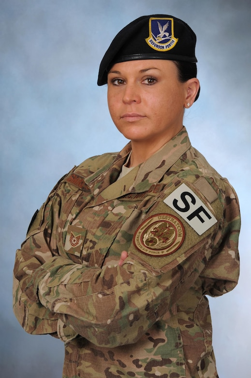 Tech. Sgt. Stevi Smalts