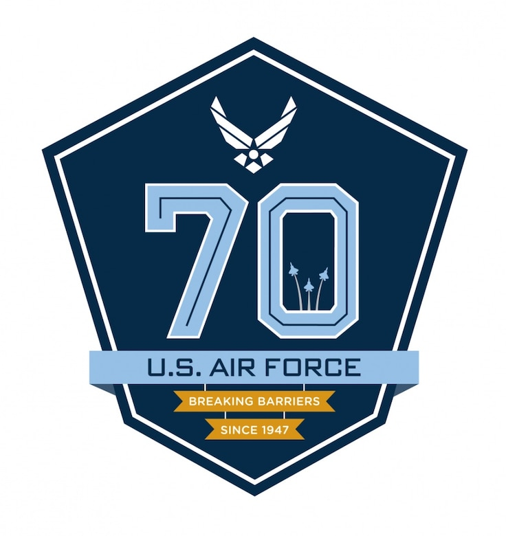 Air Force 70th Birthday Logo.