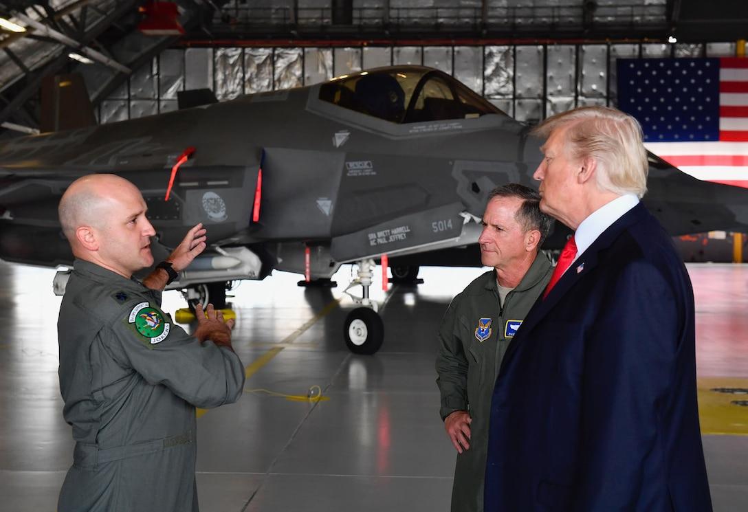 POTUS airpower demonstration
