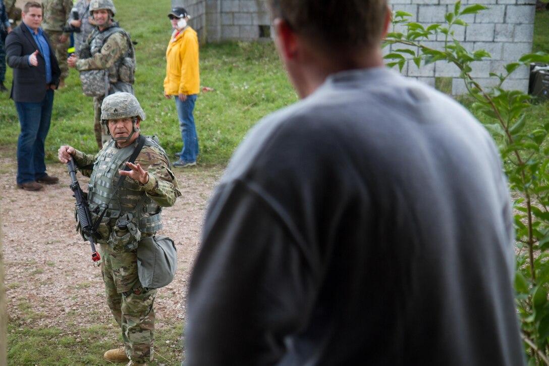U.S. Army Reserve Civil Affairs conducts Cobra Strike 2017