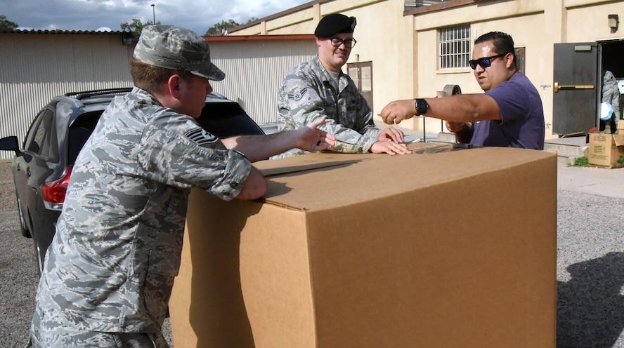 Team Kirtland aids in hurricane relief