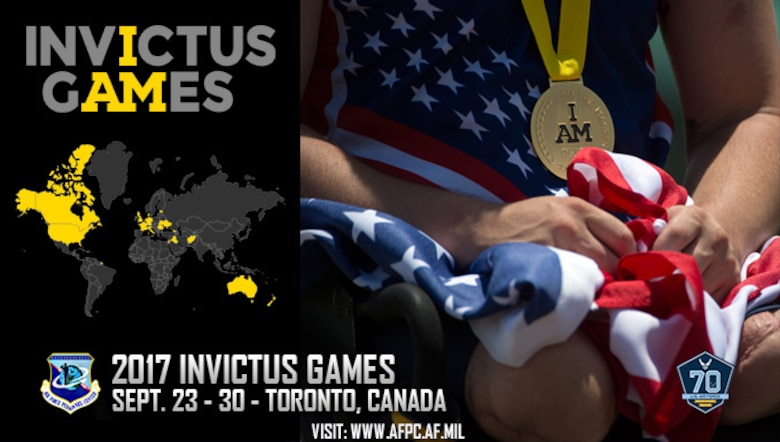 2017 Invictus Games slated to commence Sept. 23