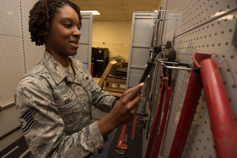 Tech. Sgt. Jessica King, Noncommissioned Officer in Charge of Materiel Control, 412th Logistics Readiness Squadron, is the 412th Test Wing's Warrior of the Week.
