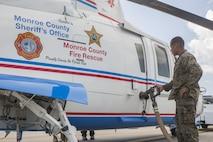 MWSS-473 FARP operations in wake of Hurricane Irma