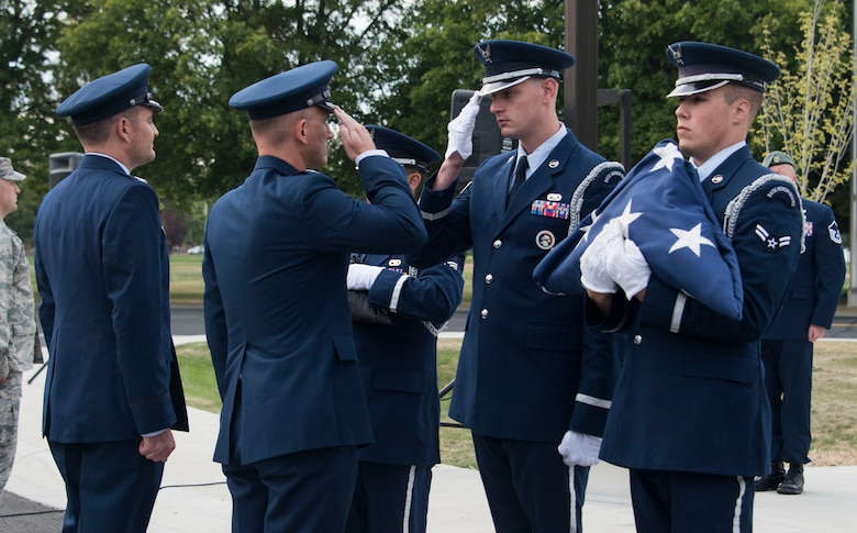 Fairchild conducts 9/11 and National POW/MIA retreat ceremonies