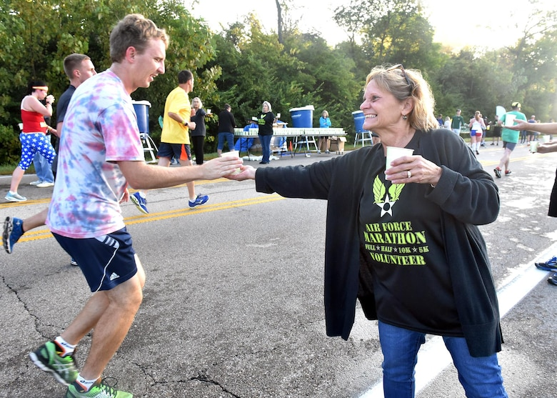 Scenes from the 2017 Air Force Marathon