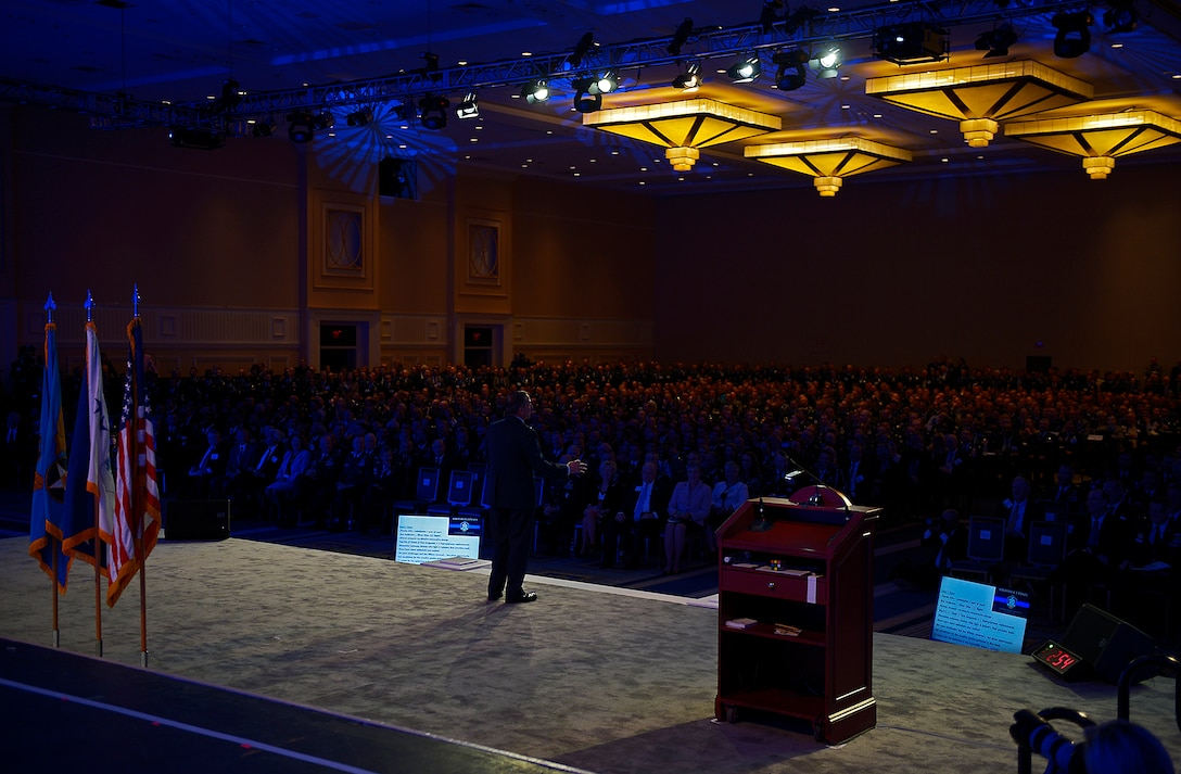 Air Force Chief of Staff delivers Air Force Update at ASC17