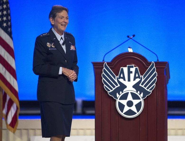 AFMC commander speaks at AFA