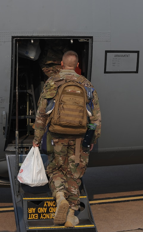 Dyess Airmen deploy to Africa