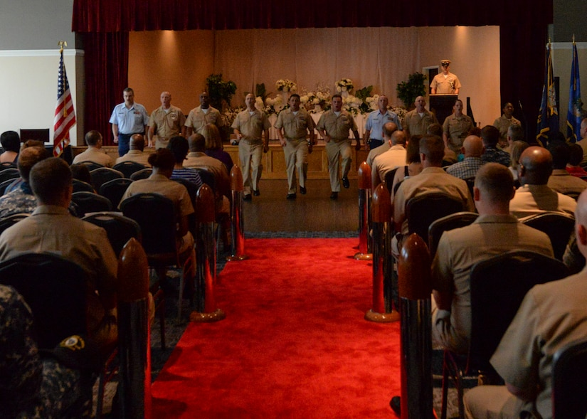 JB Charleston Navy promotees transition to Senior NCO's