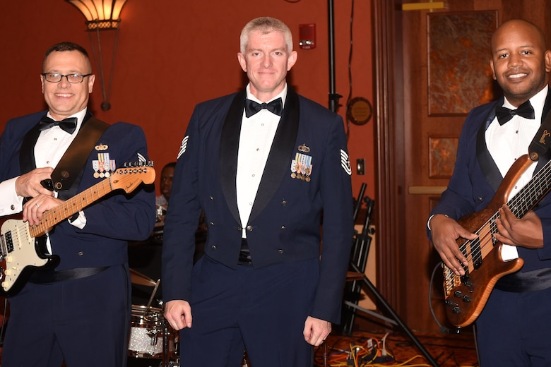 The U.S. Air Force Band of the West provided entertainment at the 2017 Air Force Ball. The ball celebrated not only the 70th birthday of the U.S. Air Force, but it also celebrated the 75th anniversary of Tinker Air Force Base.