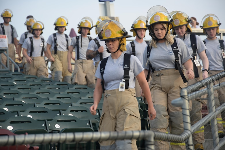 Offutt firefighters join others for 9/11 memorial