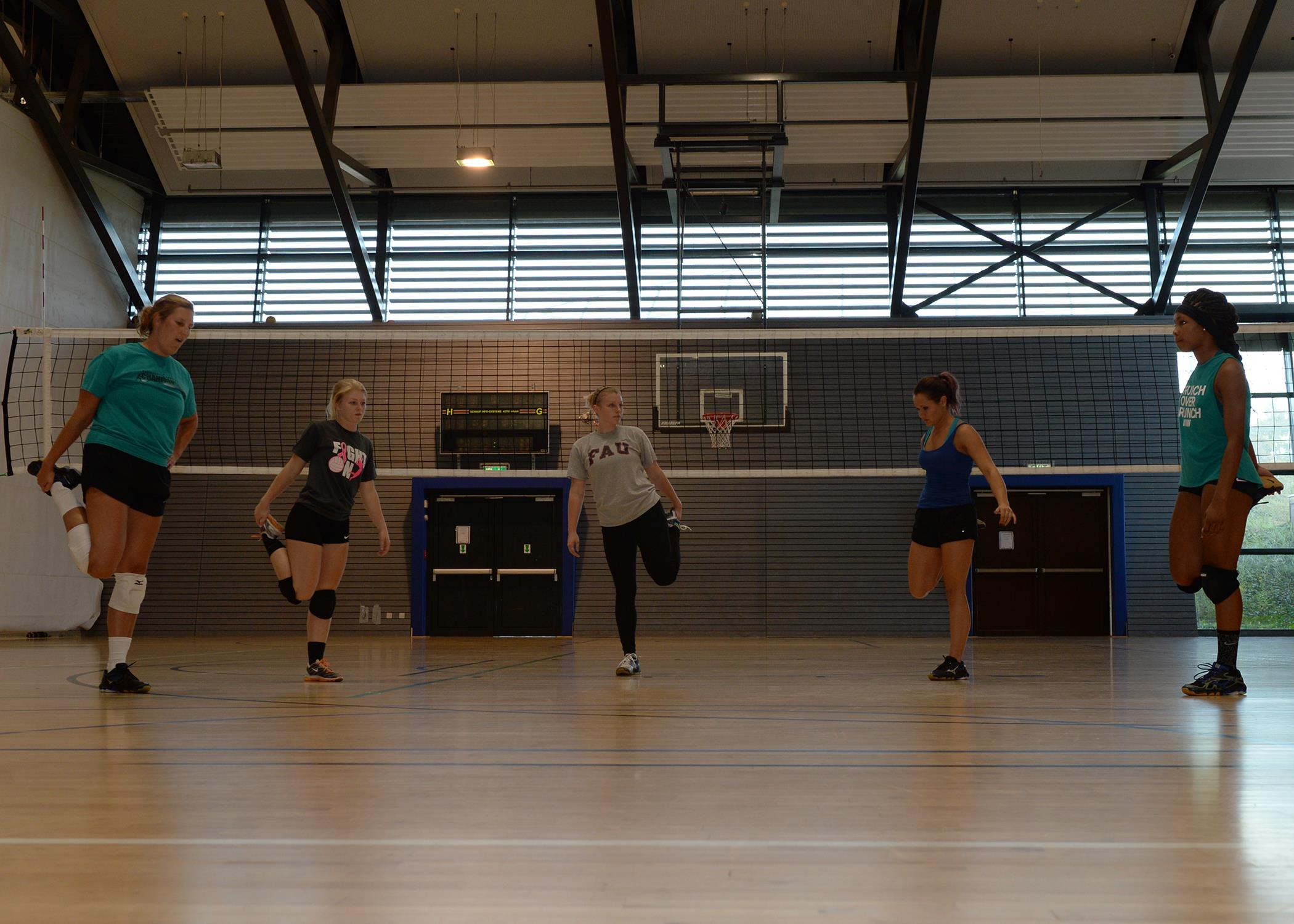 RAB Women's Volleyball Team finishes tryouts > Ramstein ...