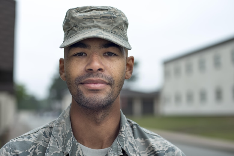 """""""The only reason I'm in Europe is because of the Air Force. Traveling is definitely one of the best parts of my life. The Air Force has given me stability. The United States wouldn't be the way it is today without the men and women in uniform. I feel like I'm a part of something bigger. It doesn't always feel good waking up at six in the morning for physical training, but when you're down range you really see how it effects the world."""""""
