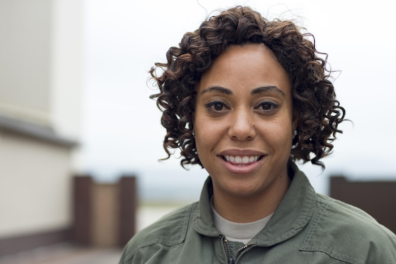 """""""My favorite part about the Air Force is the history and heritage, and the brotherhood that we have. As an aircrew member, we are not just Airmen but we are family. We are on the road with each other and are in each other's lives more than just nine-to-five. There are times where we're together for more than 75 hours a week. The Air Force has taught me to be selfless, to put others ahead of myself whether it be co-workers or their family members. The Air Force has taught me that I'm a part of something greater than myself. I represent not only myself but my family name and my squadron. Serving in the Air Force to me means a lot. It means I am able to protect and serve not only my fellow countrymen, but those who are unable to protect and serve themselves."""""""