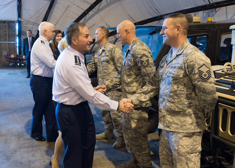 Air Force Chief of Staff visits Kentucy Air National Guard