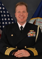 Image: Captain Steven Friloux, Chief of Staff, Naval Sea Systems Command