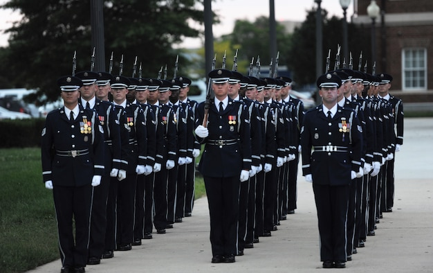 USAF celebrates 70th birthday with military tattoo