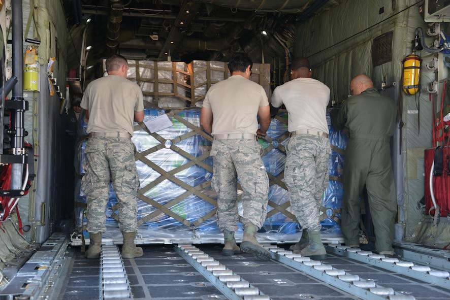 ANG, Maria, Hurricane Maria, Georgia Air National Guard