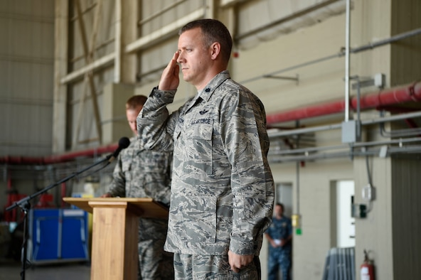 324th Expeditionary Reconnaissance Squadron change of command ceremony