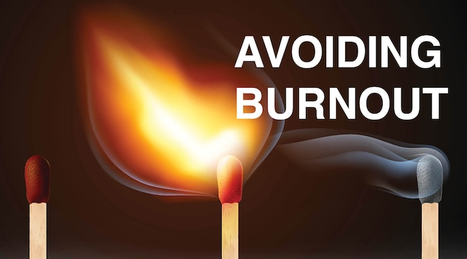 AFMC Avoiding Burnout Campaign