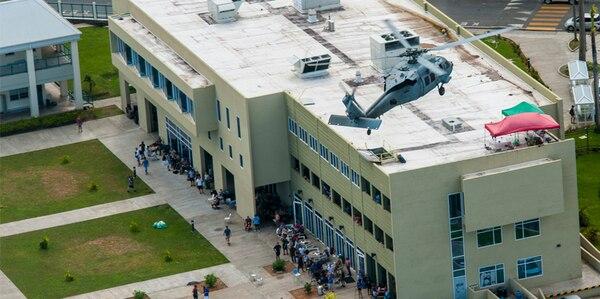 Joint Task Force Leeward Islands Begins Evacuation Of Us