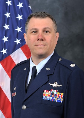 Lt. Col. Thomas Stady, 60th Communication Squadron Commander, official photo.