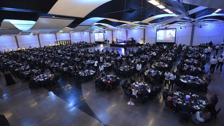 Team Dyess, Abilene community leaders attend 70th anniversary AF Ball