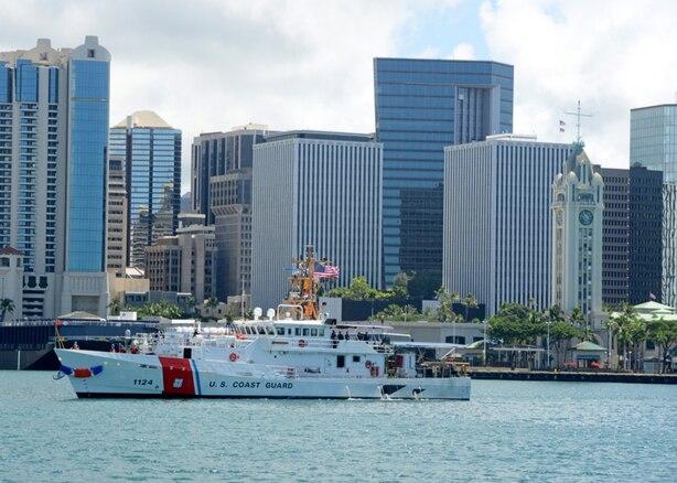 Hawaii receives first Sentinel-class Coast Guard cutter