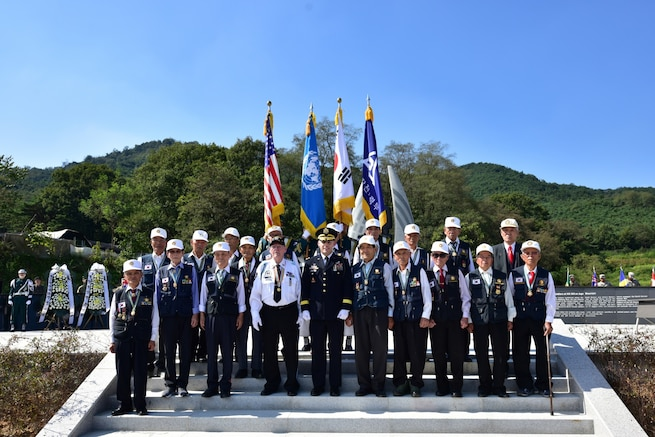 Eight Heroes stand out as U.S., South Korea honor Korean War vets