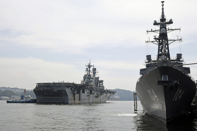 Bonhomme Richard Arrives in Sasebo, Concludes Four Month Deployment
