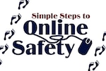 Simple steps to online safety.