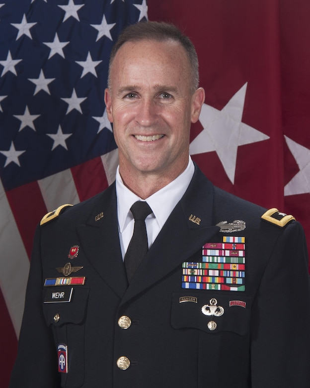 Major General Michael Wehr Official Photo