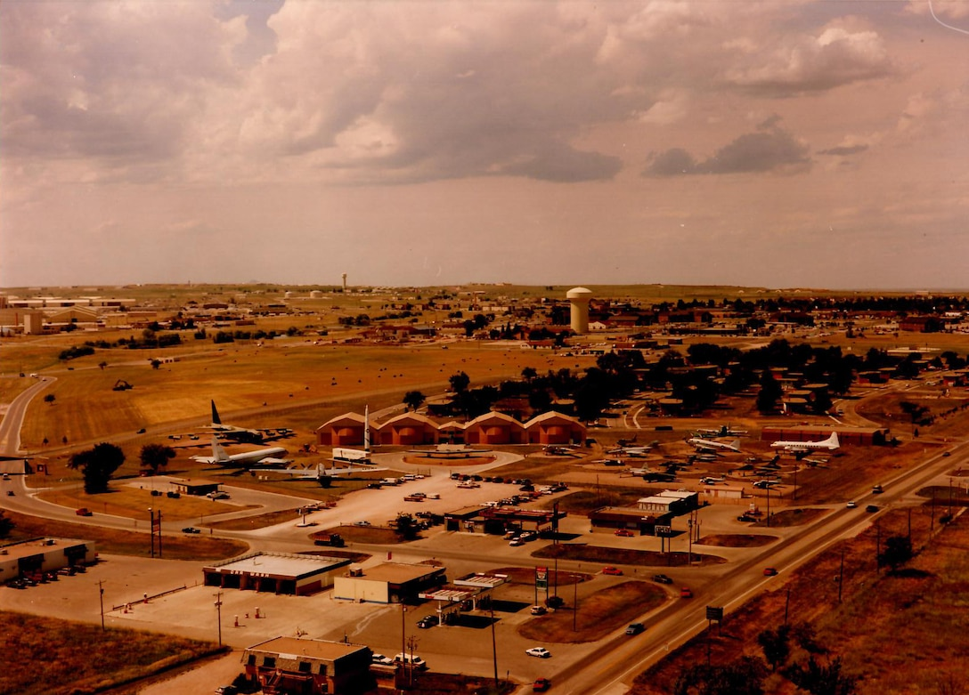 An image from 1989of the South Dakota Air and Space Museum when it first opened in Box Elder, S.D. Since the museum opened there have been multiple changes to the facility, additional displays have been installed and more changes are fourth coming as the Adopt-A-Plane Program is implemented. (Courtesy photo)