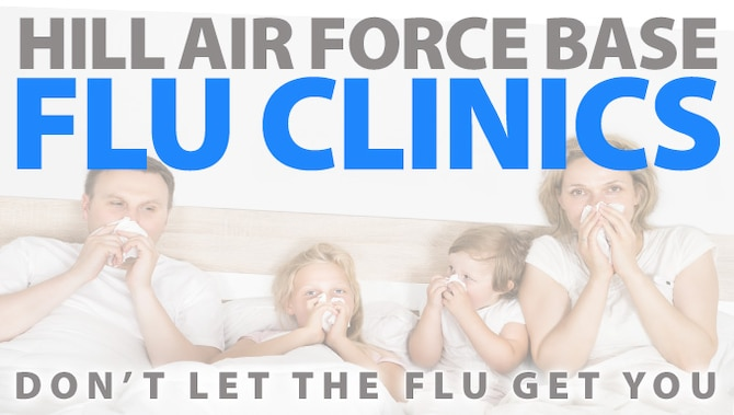 Vaccination health clinics available on Hill AFB