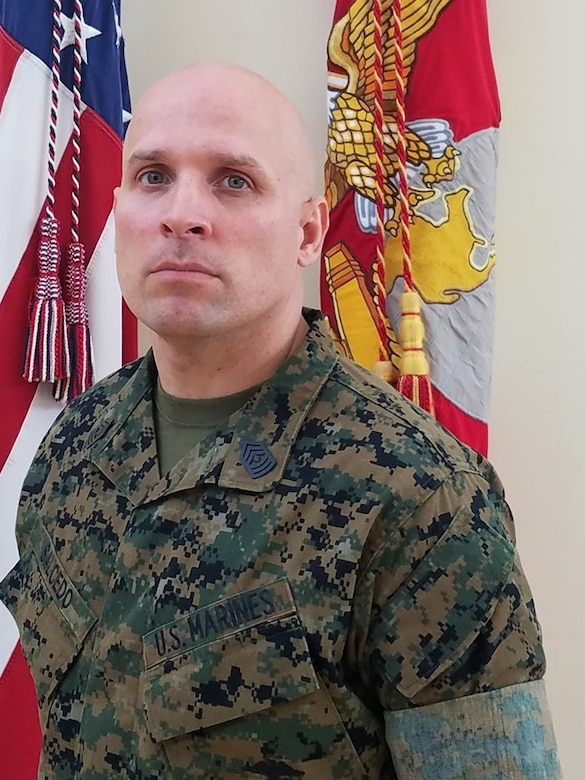Inspector-Instructor First Sergeant, Weapons Company, 2nd Battalion, 24th Marine Regiment
