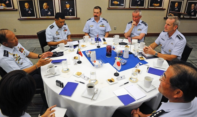COMPACAF meets with Pacific Air Chiefs