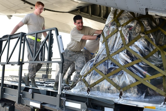 Air Force Reserve supports Guard hurricane relief mission