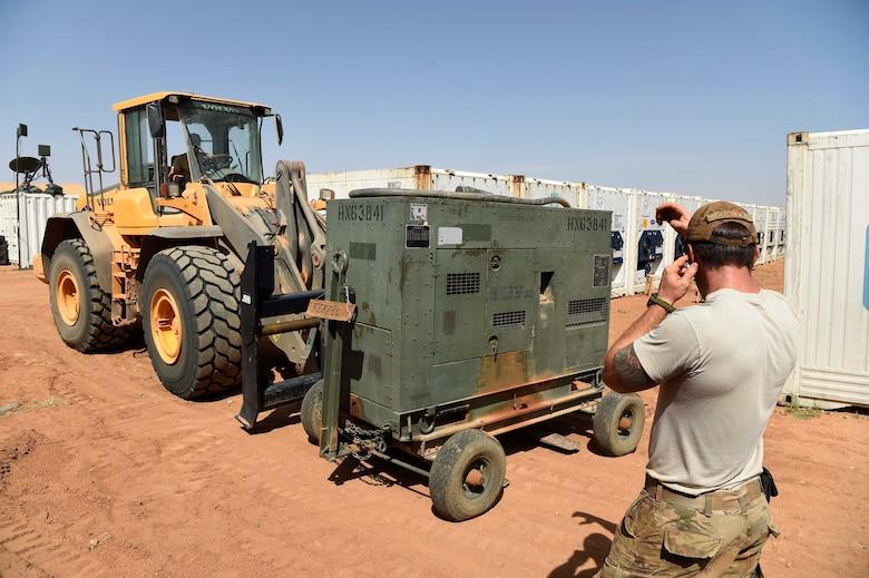 Air Base 201 at Agadez moves for FLEXIT