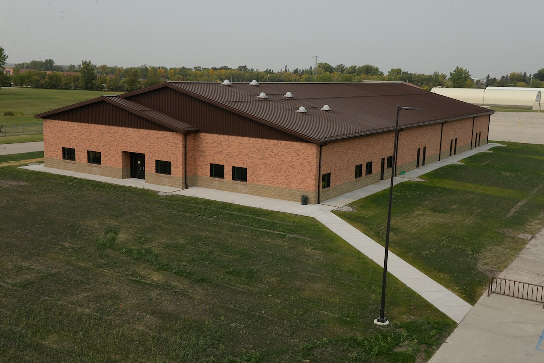The 119th Wing held a building dedication ceremony for its new 119th Intelligence Surveillance and Reconnaissance building at the North Dakota Air National Guard Base, Fargo, N.D., Sept. 22, 2017.