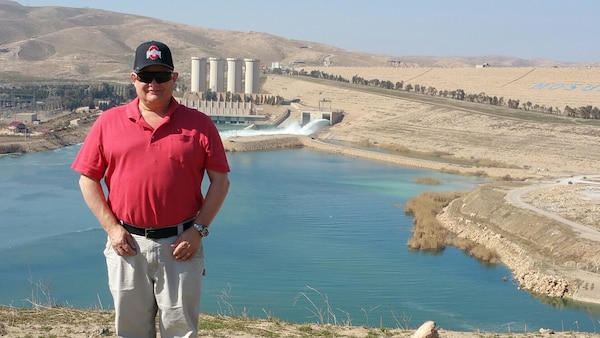 Steve Zalis, Louisville District supervisor engineer, served overseas and played a critical role serving with the Mosul Dam Task Force.