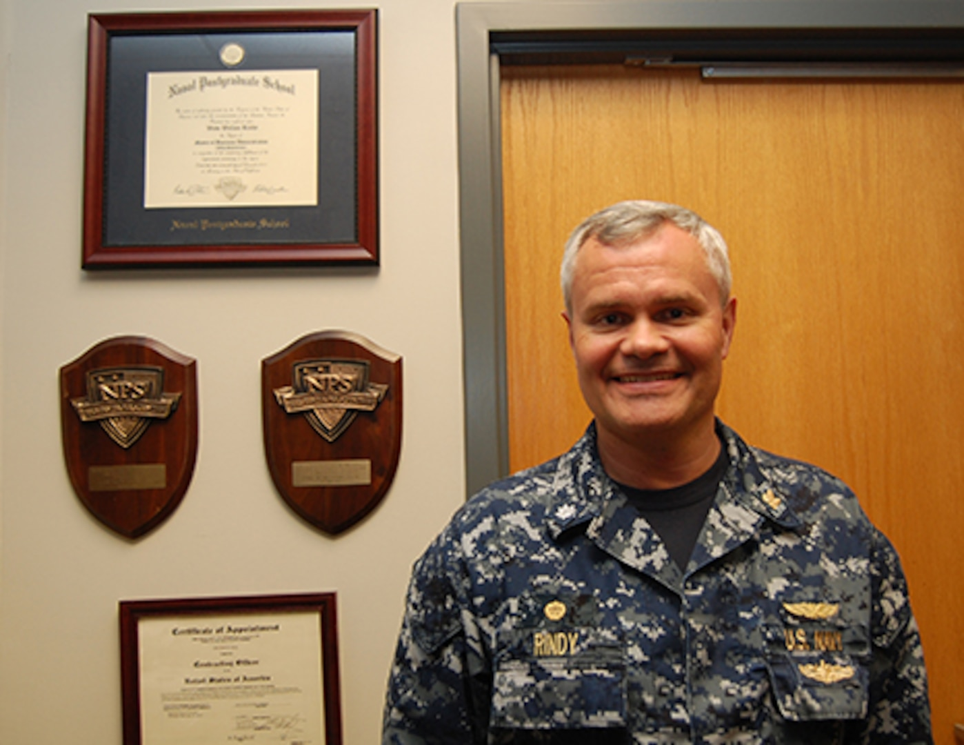 Navy Cmdr. Wade Rindy became the commander last September of Defense Contract Management Agency Hampton. DCMA Hampton became a separate primary contract management office last August. Prior to that, it was a tertiary office under DCMA Manassas. (DCMA photo by Tonya Johnson)