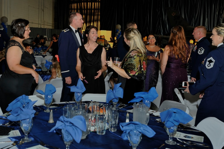 This year the Shaw 2017 Air Force Ball celebrated the Air Force's 70th birthday.