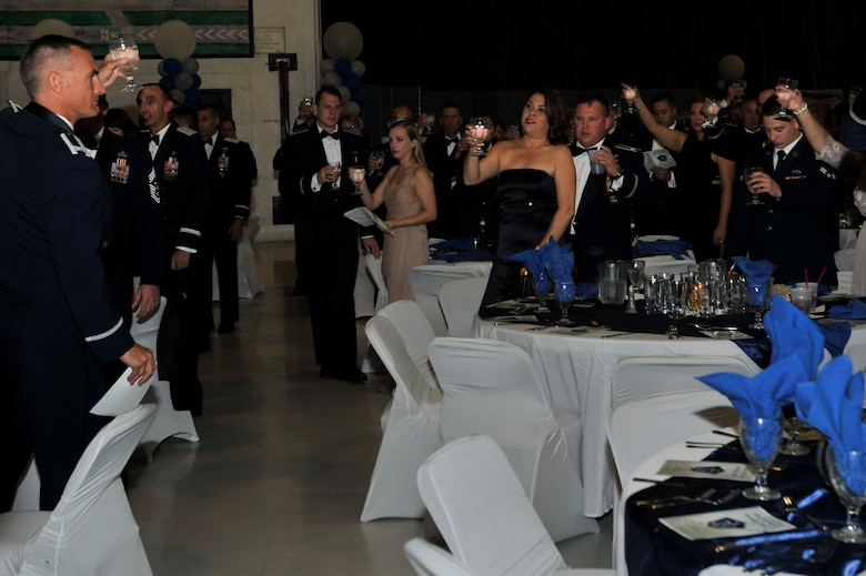 More than 300 military members, spouses and community members attended the event.