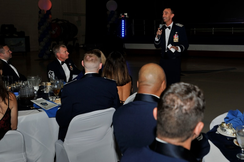 The attendees of the Shaw 2017 Air Force Ball celebrated the Air Force's 70th birthday and Shaw AFB's 76th anniversary.