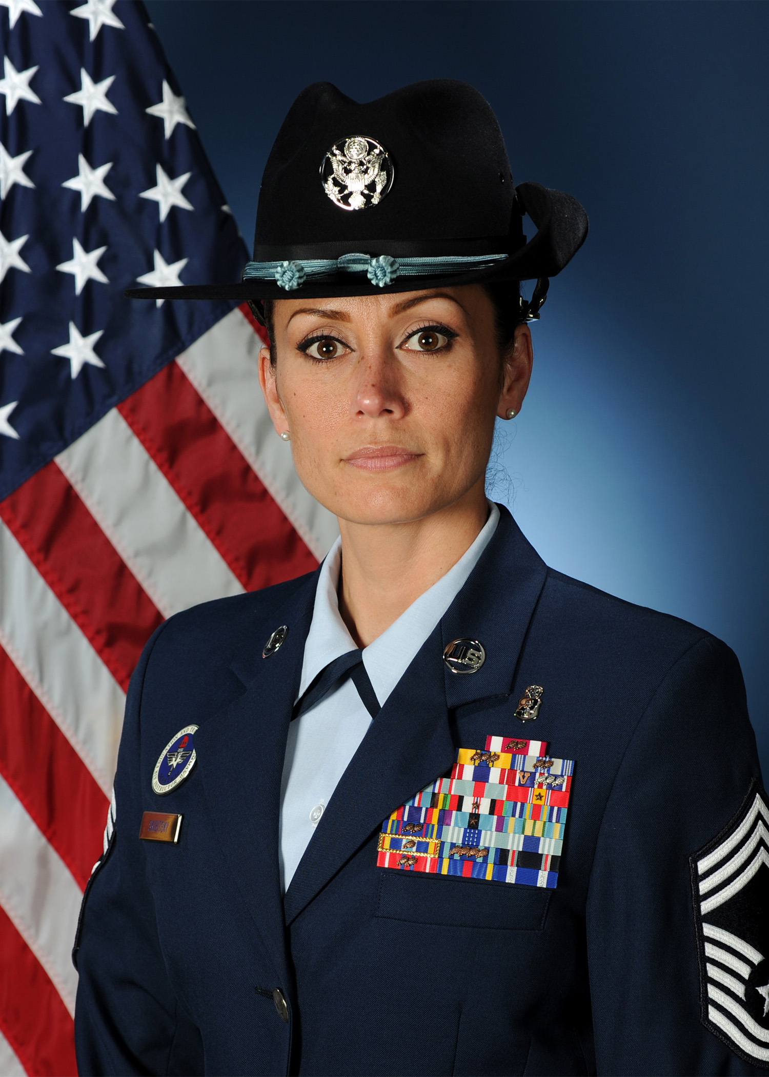Chief Master Sergeant Hope L Skibitsky Gt Air Force Basic