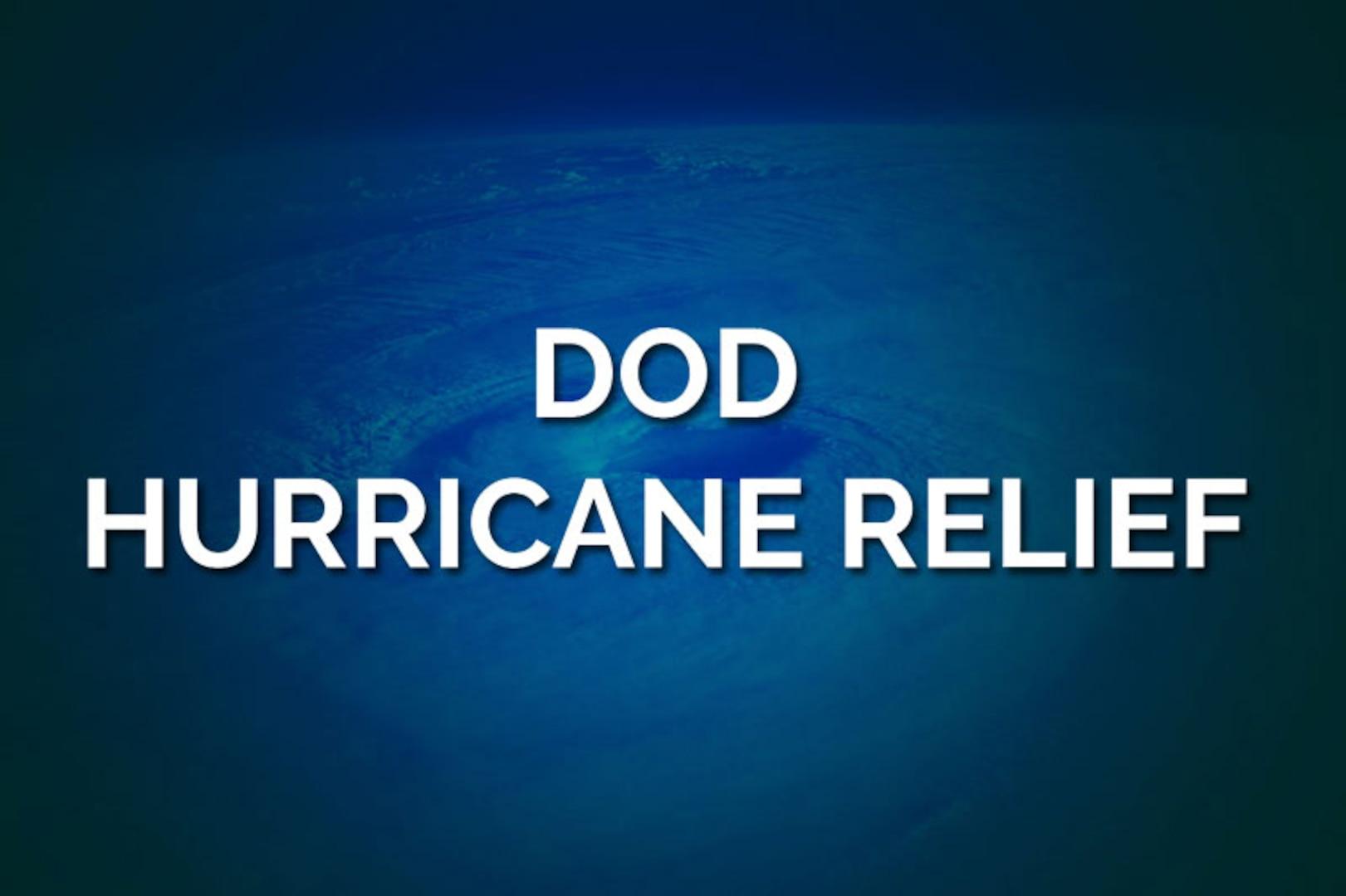 DoD Hurricane Relief
