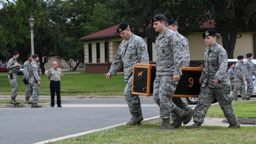 K-9 Airman gone but not forgotten
