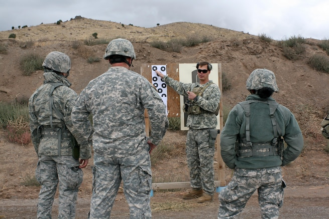 Utah Guardsmen team up for SARTS shooting clinic at Camp Williams